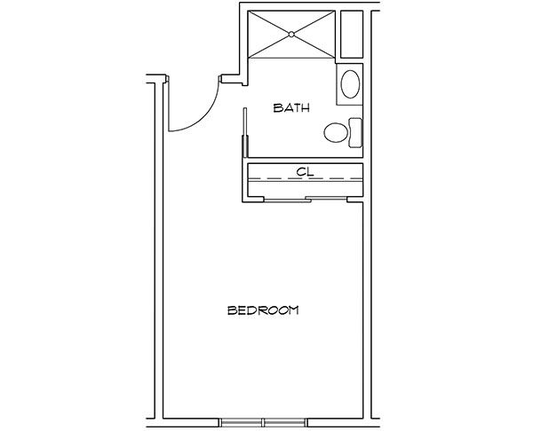 Moreau Unit A floor plan